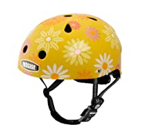 Nutcase Little Nutty Daisy Crazy Bike Helmet, Yellow, X-Small (46 cm-52 cm)