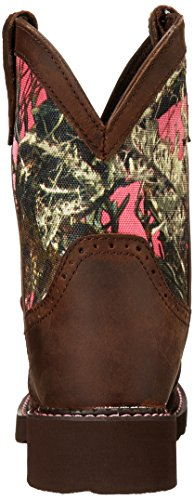 "Justin Boots Women's Gypsy Collection 8"" Soft Toe,Aged Bark/Pink Camo,9 B US"
