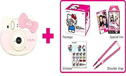 Fujifilm Instax Hello Kitty Instant Film Camera (With 30 Sheet Films)