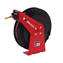 Reelcraft RT435-OLP 1/4-Inch by 35-Feet Spring Driven Hose Reel for Air/Water