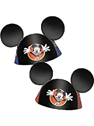 Mickey Ear Cone Hat 8pk