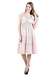 Selfiwear SW-554 Beautiful Peach Dress