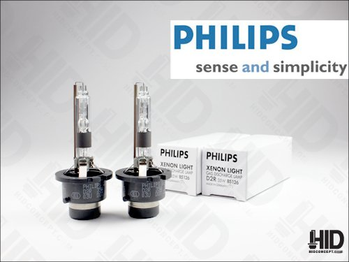 genuine philips d2r xenon hid bulb 85126 oem headlight 35w. Black Bedroom Furniture Sets. Home Design Ideas