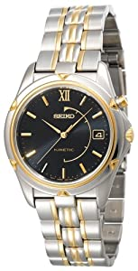Seiko Men's SKH676 Kinetic Two-Tone Watch