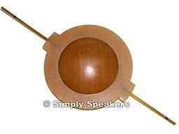 SS Audio Klipsch Tweeter Diaphragm K-77, K-77M, Heresy, Cornwall, La Scalla, 824-0137, 824-0137, 824-9946, Klipsch Horn Driver