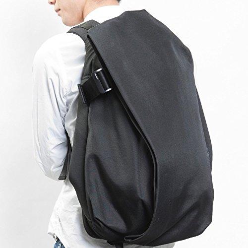 (コートアンドシエル) Cote&Ciel Laptop Rucksack / IsarRucksack / Lサイズ(15-17インチ) ノートパソコン / Macbookが収納できるリュック/バックパック ( 定番モデル ) [並行輸入品] Black   CCLRS170-BLK