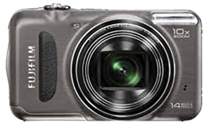 Fujifilm FinePix T200 14 MP Digital Camera with 10x Optical Zoom (Gunmetal)