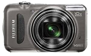 Fujifilm FinePix T200 14 MP Digital Camera with 10x Optical Zoom (Gunmetal)