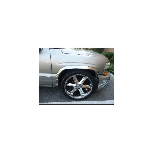 TFP 3110CL Stainless Steel Fender Trim Molding (Ford Explorer 2004 Accesories compare prices)