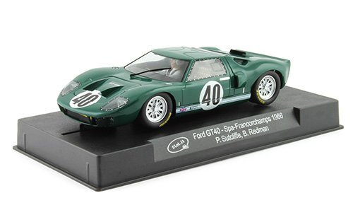 Slot It CA18c Ford GT40 Spa Francorchamps 1966 Green 1/32 Scale Slot Car by Slot.it