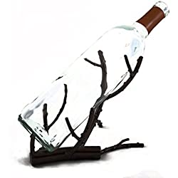 TheopWine Decorative Wine Bottle Holder, Wine Rack, and Wine Accessory - Comes in Gift Box