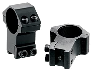 AccuShot Premium Hi-Profile Airgun .22 Ring for 1-Inch Scope