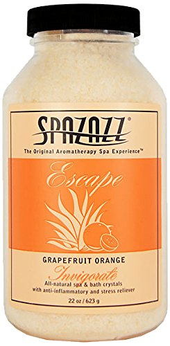 Spazazz 7380C Spa and Bath Crystals, Grapefruit Orange
