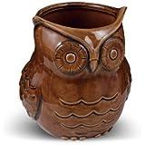 Grassland's Road Ceramic Owl Planter