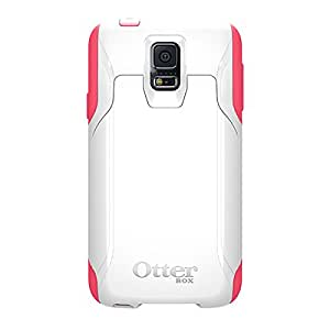 Otterbox [Commuter Series] Wallet Case for Samsung Galaxy S5 -  Retail Packaging Protective Case for Galaxy S5  - Neon Rose (White/Blaze Pink)