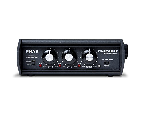 "Marantz Professional PHA-3 | Stereo Field Production Headphone Amplifier with XLR, 1/4"" & 1/8"" Headphone Outputs"