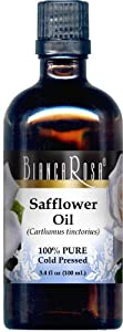 Safflower Oil - 100% Pure, Cold Pressed - 3.40 fl oz - ZIN: 428376