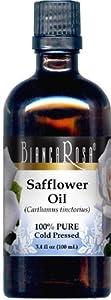 Safflower Oil - 100% Pure, Cold Pressed - 3.40 fl oz - ZIN: 428376