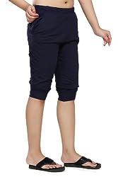 Clifton Womens Comfort Capri - Navy - Small