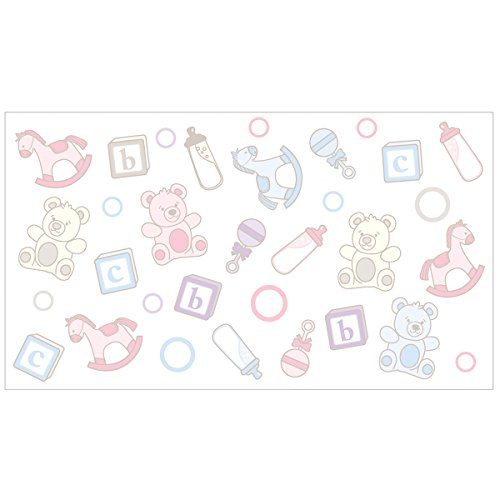 Ubbi 10050 Diaper Pail Nursery Decals