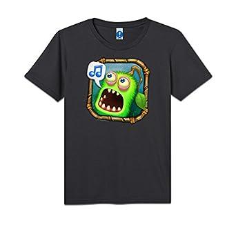 Amazon.com: My Singing Monsters - Kids Furcorn Icon T-Shirt: Clothing