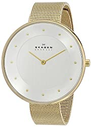 Skagen Gitte Analog Silver Dial Womens Watch - SKW2141