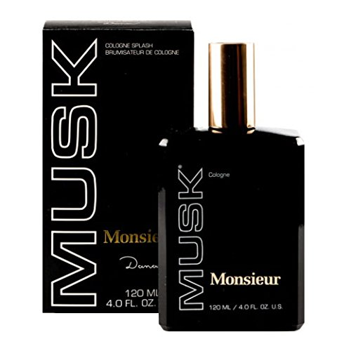 Monsieur Musk Profumo Uomo di Houbigant - 120 ml Eau de Cologne Splash (By Dana)