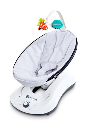 Great Features Of 4moms, rockaRoo, Baby Swing, Grey Classic