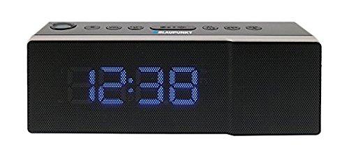 Blaupunkt CRP8BK orologi-Radio (LED-display, FM, FM) nero, programma memoria, radio sveglia, Snooze orologi radio