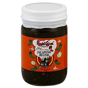 Ragin Cajun Spicy Sweet Jalapeno Relish 12oz Jar (Pack of 3)