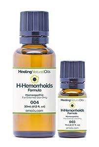 Hemorrhoids Treatment: H-Hemorrhoids Relief for Internal, External, Thrombose Hemorrhoids 11ml