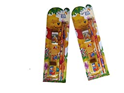 Winnie the Pooh Stationery Back to School Two Piece Pack School Supply., School:01