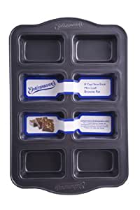Entenmann's Classic 8 Cup Non-Stick Mini Loaf/Brownie Pan