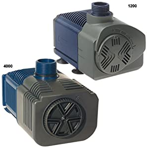 Lifegard Aquatics ARP440110 Quiet One Aquarium PRO Series 2200 Pump, 594 GPH
