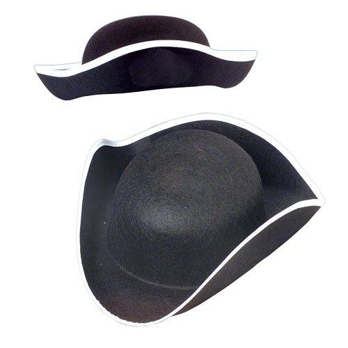 Felt Tricorn Hat (Tri Corner Hat)