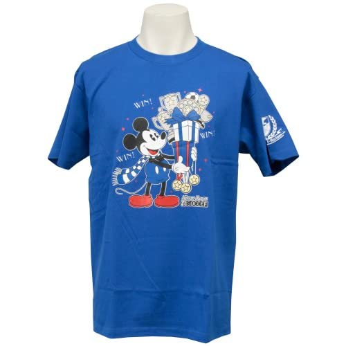 (Jリーグエンタープライズ)J.LEAGUE ENTERPRISE 横浜F・マリノス ミッキーマウスTシャツ(WIN!) L 11419085 L3636  ブルー L