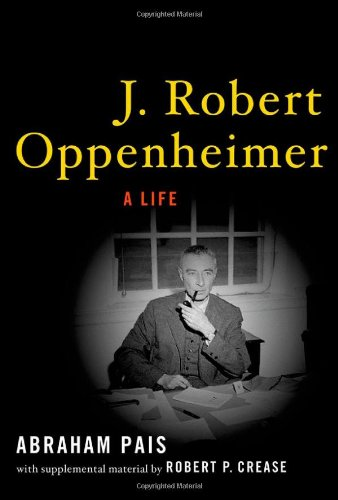 J. Robert Oppenheimer: A Life front-61325