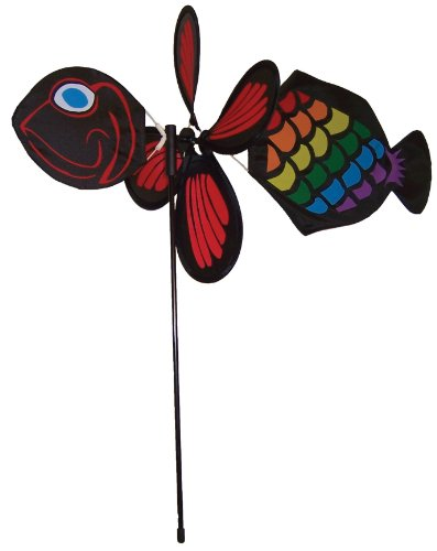 In the Breeze Baby Fishey Garden Spinner - 1