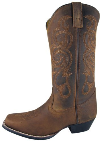 Mid-Calf Ladies Cowboy Boot Composition Sole Western Heel St