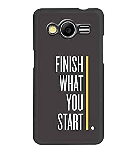 PRINTSWAG QUOTE Designer Back Cover Case for SAMSUNG GALAXY CORE 2 G355H