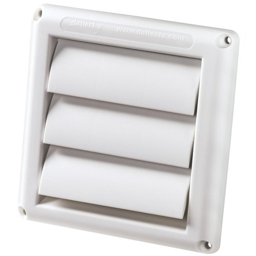 """Vent Hood 4"""" White front-507831"""