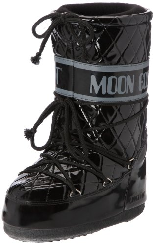 Moon Boot Queen, Stivali, Ragazza, Nero Vern., 39/41
