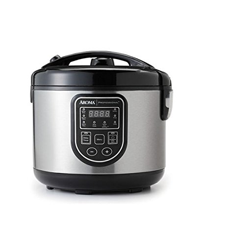 Best Price! Aroma Rice Cooker, Slow Cooker, & Food Steamer 16-Cup ARC-988SB