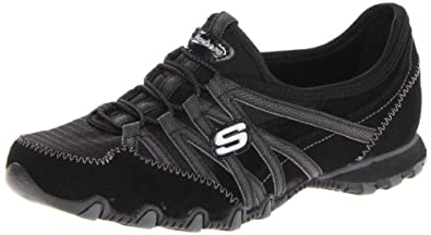 Skechers Women's Verified Fashion Sneaker,Black/Charcoal,5 M US