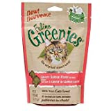 FELINE GREENIES Cat Dental Treat Salmon Flavor 3 oz