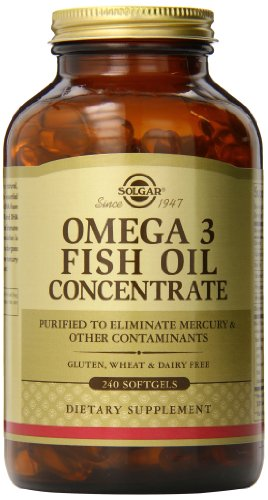 Solgar omega 3 fish oil concentrate supplement 240 count for Omega fish oil advanced support