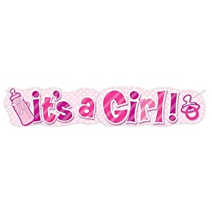 Baby Girl Giant Banner, 4.5-Feet from Unique Industries, Inc. - kitchen