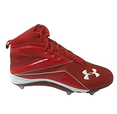 Under Armour Team Run N Gun D Com Bowl Terps Detachable Football Cleats by Under Armour