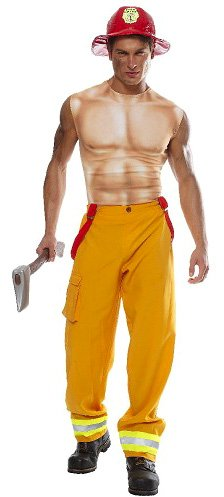 Firefighter Dude Costume