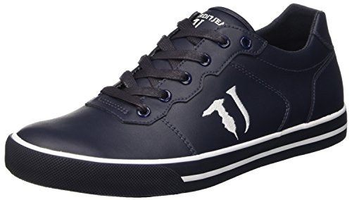 Trussardi Jeans 77S213A51, Scarpe Low-Top Uomo, Blu (Dark Blue), 43 EU